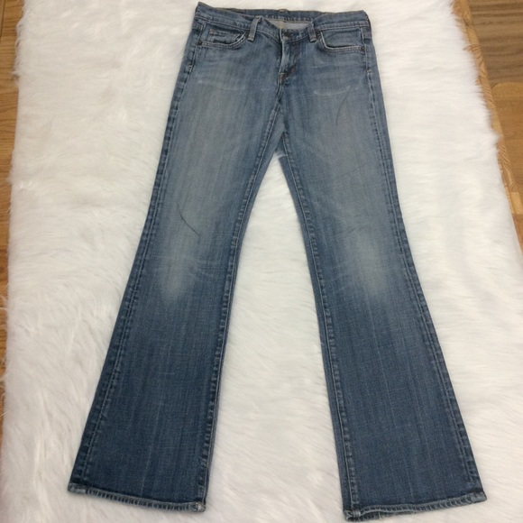 Citizens Of Humanity Denim - Citizens Of Humanity Kelly #001 Low Waist Bootcut
